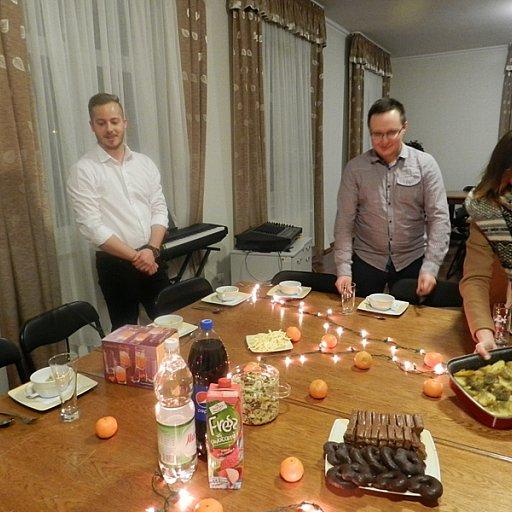 Spotkanie świąteczne zespołu Quo Vadis